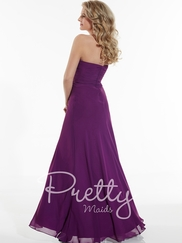 Sweetheart Pleated Pretty Maids Bridesmaids Dress 22625