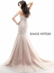 Sweetheart Ruched And Beaded Lace Bridal Gown Maggie Sottero Haven