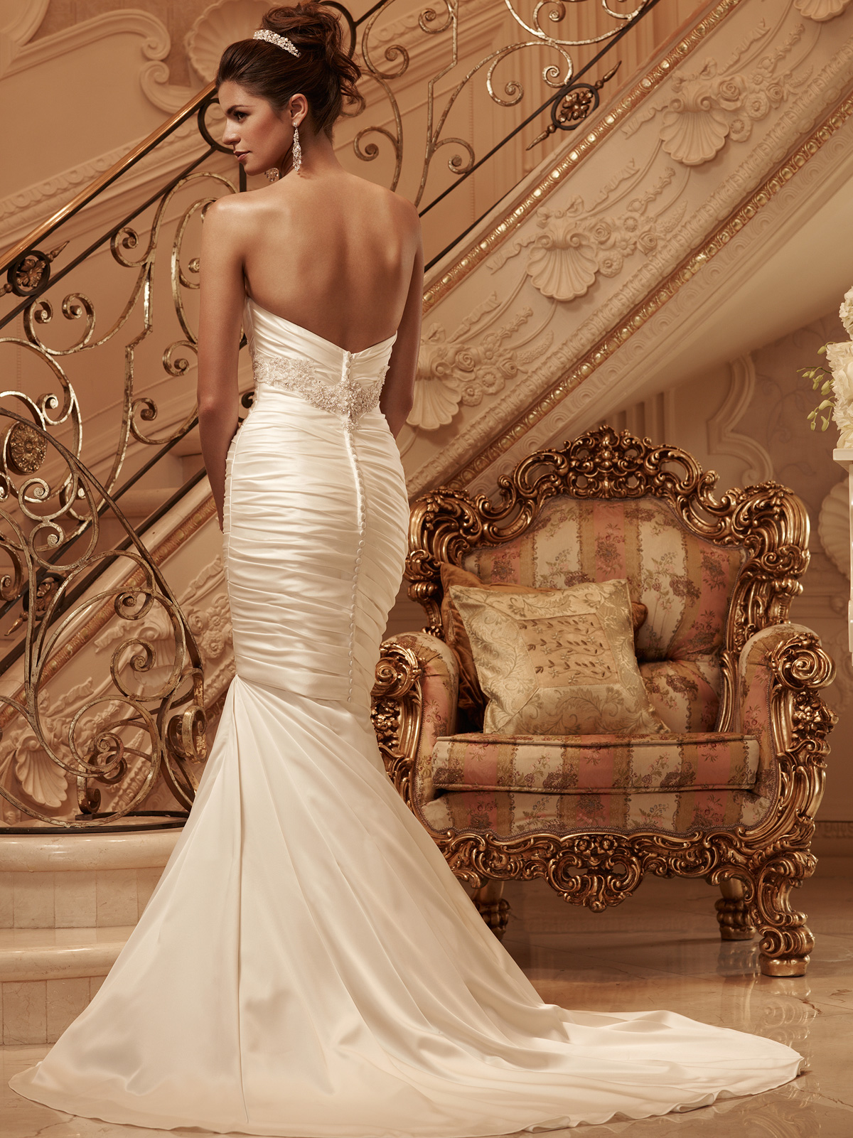Sweetheart Mermaid Casablanca Bridal Gown 2118|DimitraDesigns.com