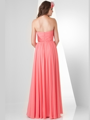 Sweetheart Ruched Bridesmaid Dress Bari Jay 861