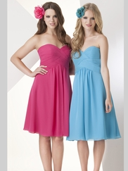 Sweetheart Ruched Bridesmaid Dress Bari Jay 868