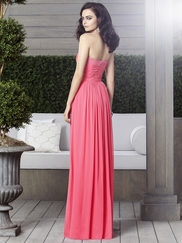 Sweetheart Ruched Bridesmaid Dress Dessy 2904