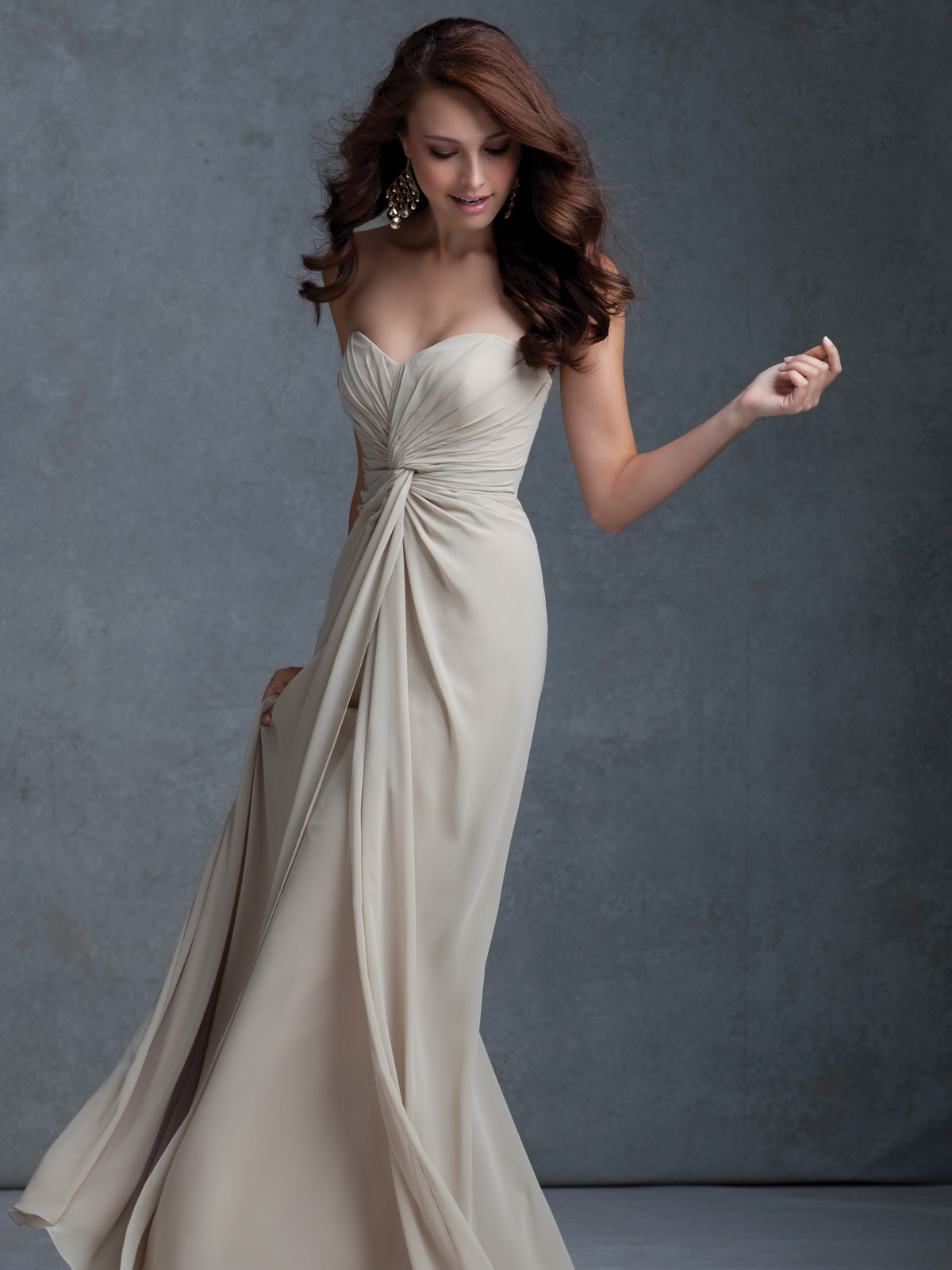 Mori lee bridesmaids dress 675dimitradesigns graceful flowing a line bridesmaid dress ombrellifo Gallery