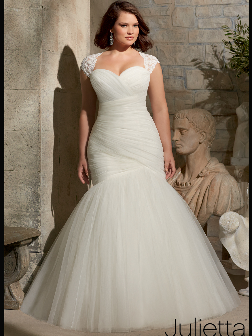 Beautiful Ruched Bridal Gowns Photos - Wedding and flowers ...
