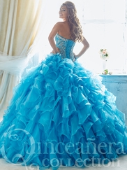 Tiffany 26809 Quinceañera Collection Beaded Bodice Ball Gown