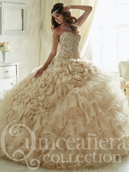 Tiffany 26816 Quinceañera Collection Beaded Bodice Ball Gown