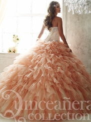 Tiffany 26821 Quinceañera Collection Corset Bodice Ball Gown