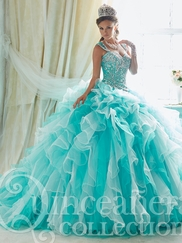 Tiffany 26825 Quinceañera Collection Beaded Bodice Ball Gown