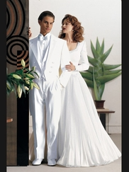 Tuxedo White Notch Fulldress