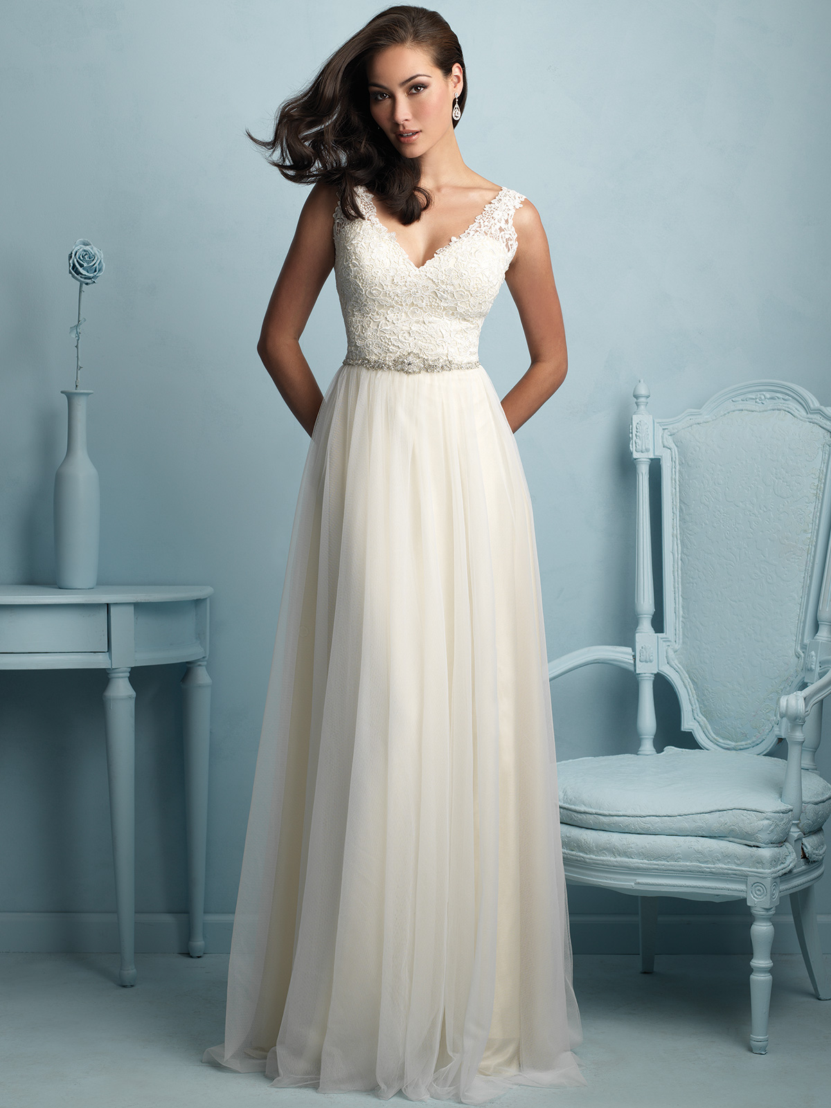 Allure Bridal Dress 9205: DimitraDesigns.com