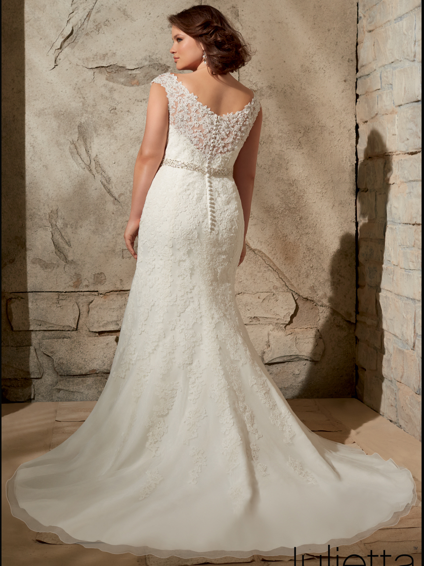 Mori lee julietta bridal gown 3172 for Mori lee wedding dresses