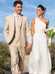 Wedding Tan Suit Havana by Lord West