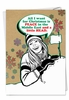 Humorous Christmas Card From NobleWorksInc.com - A Little Head