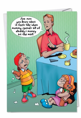 Hilarious Birthday Card From NobleWorksInc.com - All Daddy's Money