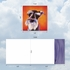 Stylish Blank Square-Top Card From NobleWorksInc.com - Animal Magnetism-Dog - Dog
