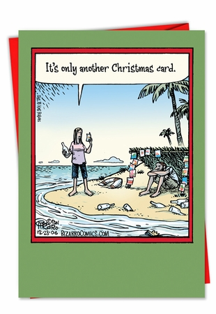 Funny Christmas Card From NobleWorksInc.com - Another Christmas Card