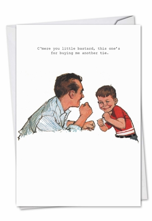 Humorous Birthday Father Card From NobleWorksInc.com - Another Tie