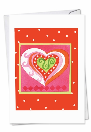 Beautiful Valentine's Day Card From NobleWorksInc.com - Art Hearts