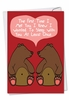 Hilarious Valentine's Day Card From NobleWorksInc.com - At Least Once