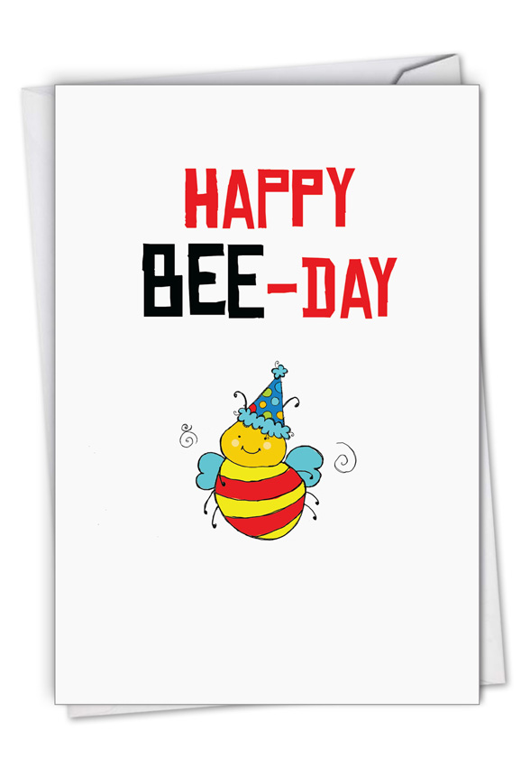 Birthday Puns Bee
