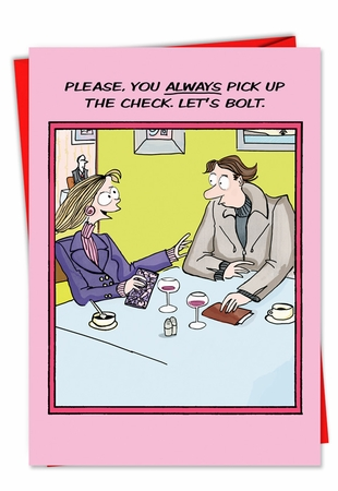Hysterical Valentine's Day Card From NobleWorksInc.com - Bolt