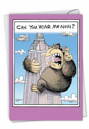 Hilarious Birthday Card From NobleWorksInc.com - Can You Hear Me Now