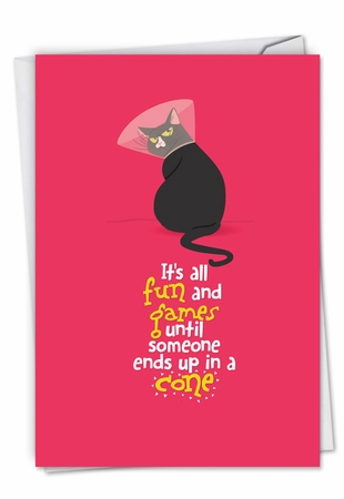 Beautiful Get Well Card From NobleWorksInc.com - Catty