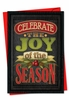 Artful Christmas Card From NobleWorksInc.com - Chalk Up Another Holiday