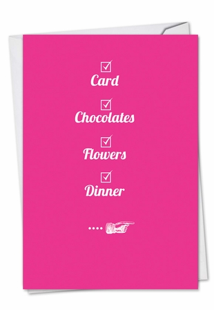 Funny Valentine's Day Card From NobleWorksInc.com - Check Your Box