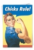 Funny Engagement Card From NobleWorksInc.com - Chicks Rule