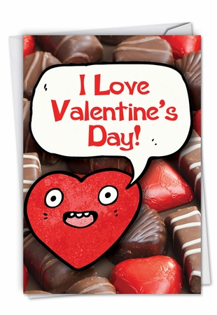 Hilarious Valentine's Day Card From NobleWorksInc.com - Chocolate Sale