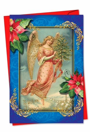 Beautiful Christmas Card From NobleWorksInc.com - Christmas Angels