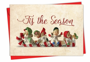 Artful Christmas Card From NobleWorksInc.com - Christmas Antiquities