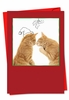 Artful Christmas Card From NobleWorksInc.com - Cats & Doodles