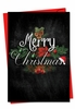 Artistic Christmas Card From NobleWorksInc.com - Chalk And Roses