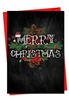 Artful Christmas Card From NobleWorksInc.com - Chalk And Roses