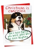 Funny Christmas Card From NobleWorksInc.com - Christmas Is Canceled