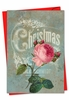 Beautiful Merry Christmas Card From NobleWorksInc.com - Christmas Roses