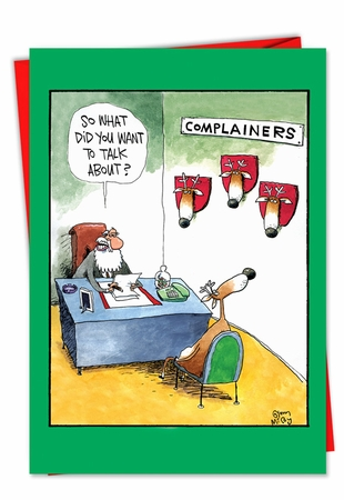 Hilarious Christmas Card From NobleWorksInc.com - Complainers
