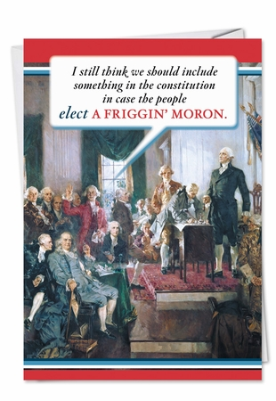Humorous Birthday Card From NobleWorksInc.com - Constitution