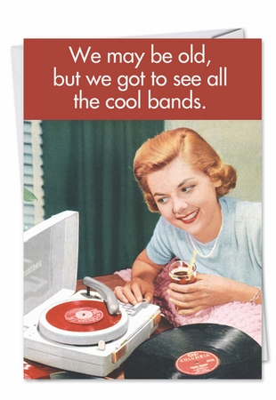 Hilarious Friendship Card From NobleWorksInc.com - Cool Bands Friendship