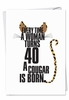 Hilarious Birthday Card From NobleWorksInc.com - Cougar
