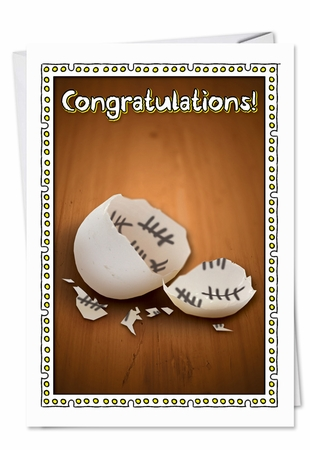 Humorous Congratulations Card From NobleWorksInc.com - Counting the Days