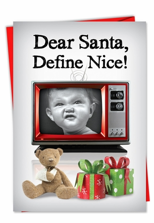 Humorous Christmas Card From NobleWorksInc.com - Defined Good
