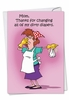 Hilarious Mother's Day Card From NobleWorksInc.com - Dirty Diapers