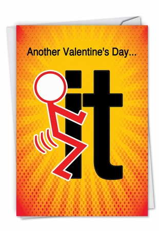 Funny Valentine's Day Card From NobleWorksInc.com - Do It
