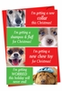 Funny Christmas Card From NobleWorksInc.com - Dogs Getting Worried
