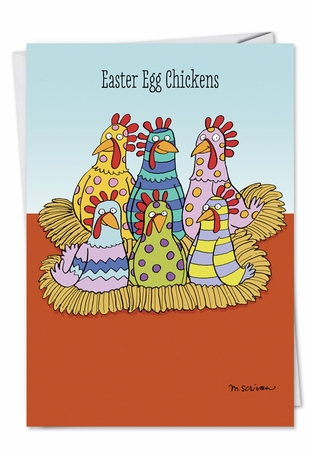 Hysterical Easter Card From NobleWorksInc.com - Easter Chicken