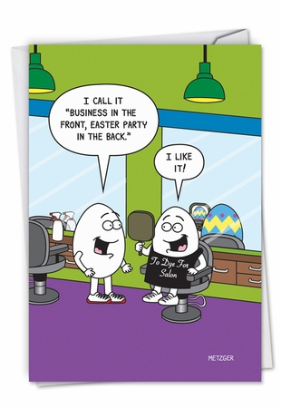 Hysterical Easter Card From NobleWorksInc.com - Easter Haircut