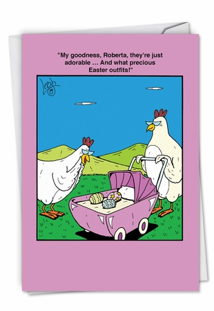 Funny Easter Card From NobleWorksInc.com - Easter Outfits